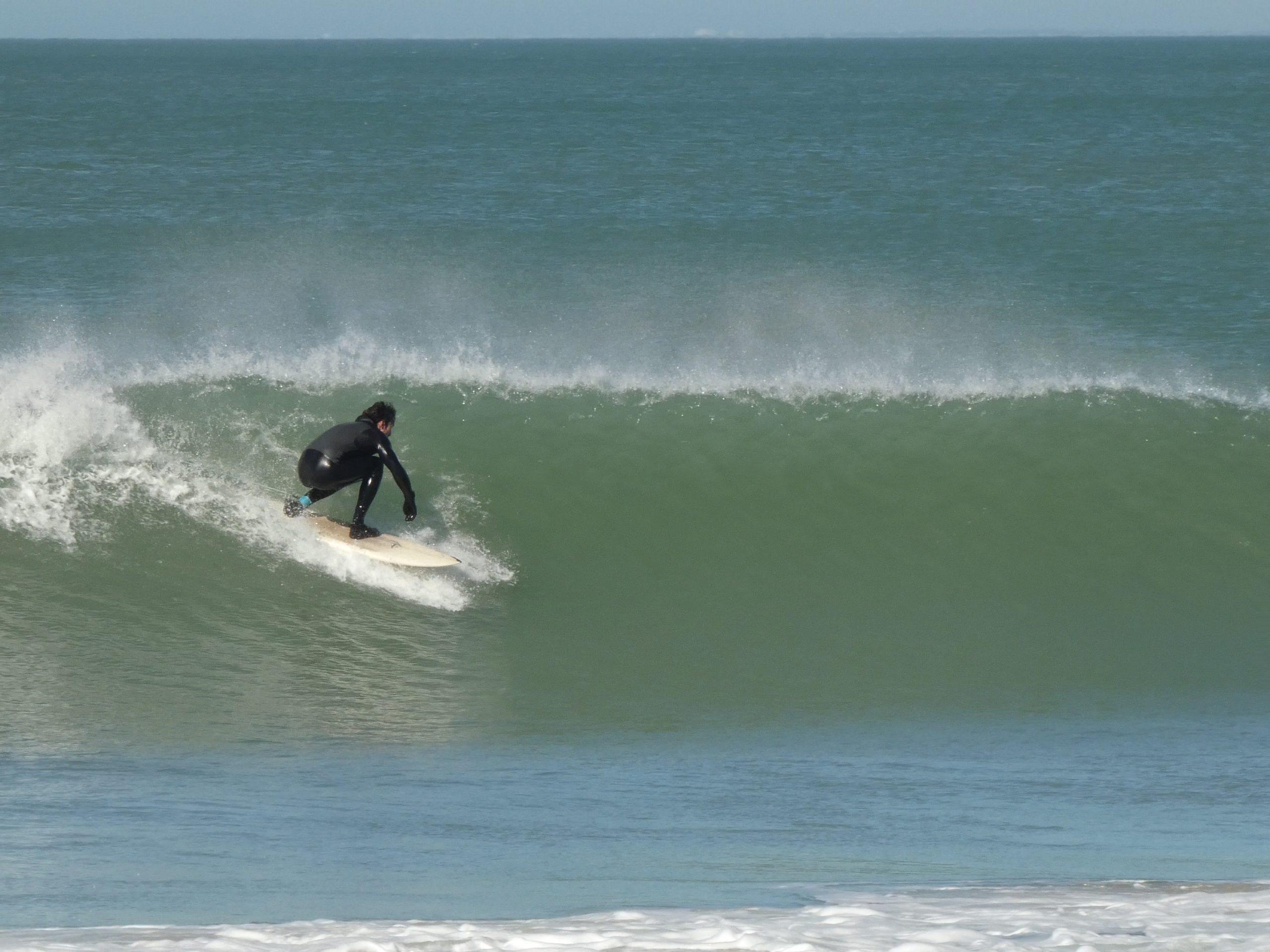 Surf aux Portes en Ré